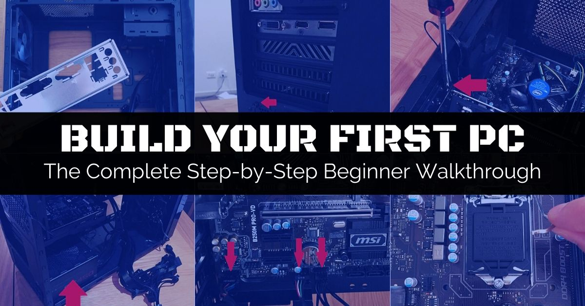 Assemble Components And Build Your Computer With These Steps